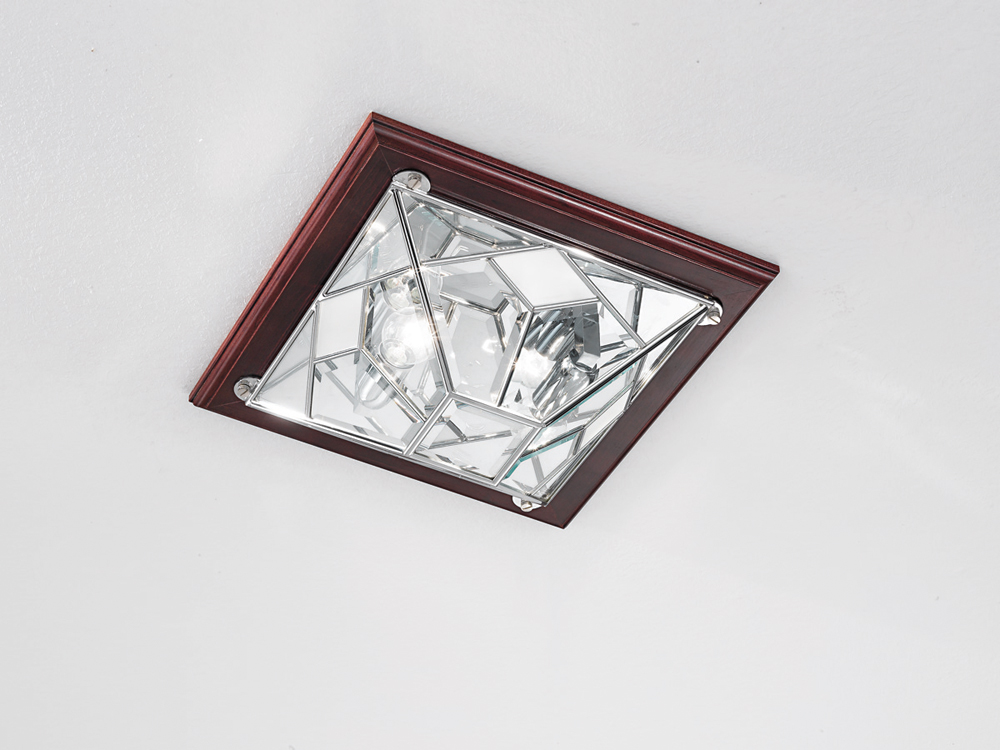 Plafoniere In Cristallo Molato : Cristallo cremasco illuminazione